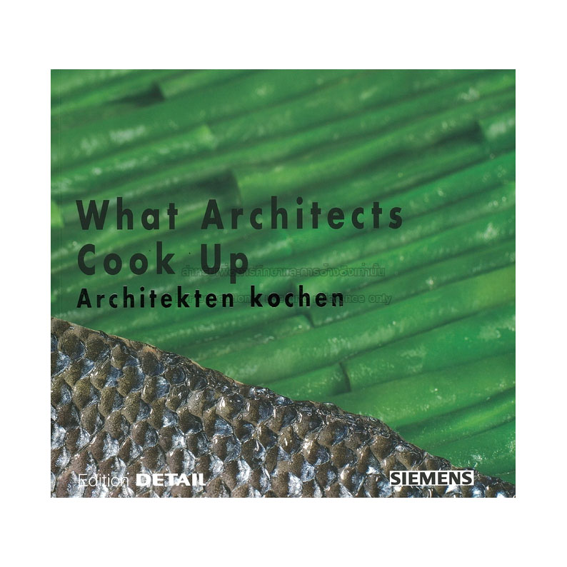 Foto Buch What architects cook up